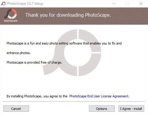 Como instalar Photoscape 3.7