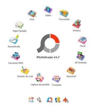 Descargar fotoscape 3.7