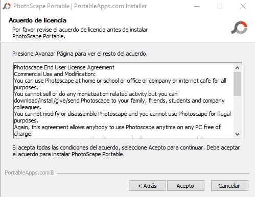 Photoscape 3.7 portable licencia