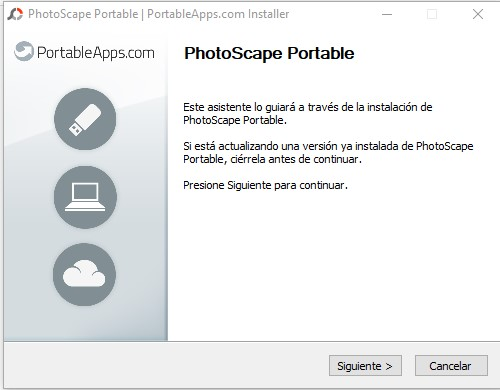 Instalar photoscape portable